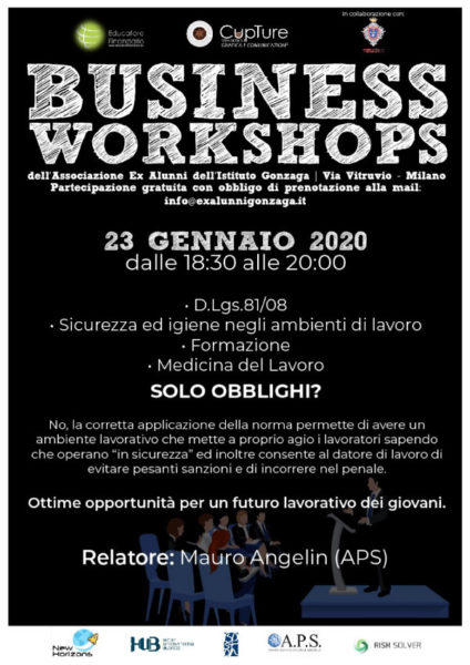 Business Workshop 23/01/2020