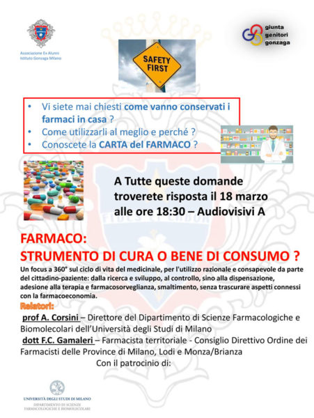 BUSINESS WORKSHOP – FARMACO: STRUMENTO DI CURA O BENE DI CONSUMO?